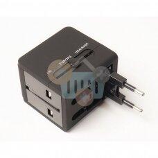 Adapteris EU / UK / USA / AUS / USB