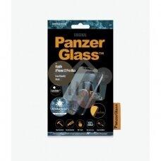 Apsauginis stiklas Apple iPhone 12 Pro Max (Juodas) PanzerGlass Premium +++ TOP Saugumas