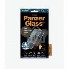 Apsauginis stiklas Apple iPhone 12/12 Pro (Juodas) PanzerGlass Premium +++ TOP Saugumas