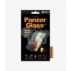Apsauginis stiklas Samsung Galaxy A12 (Juodas) PanzerGlass Premium +++ TOP Saugumas