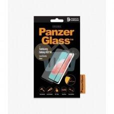 Apsauginis stiklas Samsung Galaxy A32 5G (Juodas) PanzerGlass Premium +++ TOP Saugumas