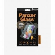 Apsauginis stiklas Samsung Galaxy A51 (Juodas) PanzerGlass Premium +++ TOP Saugumas