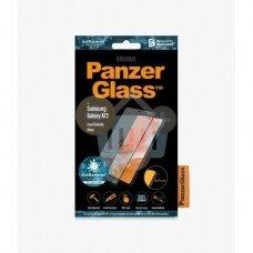 Apsauginis stiklas Samsung Galaxy A72 (Juodas) PanzerGlass Premium +++ TOP Saugumas