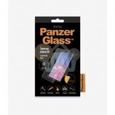 Apsauginis stiklas Samsung Galaxy S10 (Juodas) PanzerGlass Premium +++ TOP Saugumas
