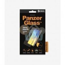 Apsauginis stiklas Samsung Galaxy S10e (Juodas) PanzerGlass Premium +++ TOP Saugumas
