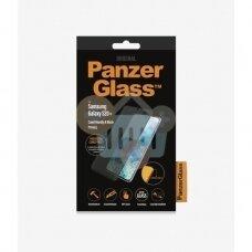 Apsauginis stiklas Samsung Galaxy S20+ (Juodas) PanzerGlass Premium +++ TOP Privatumas