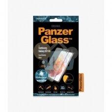 Apsauginis stiklas Samsung Galaxy S21 (Juodas) PanzerGlass Premium +++ TOP Saugumas