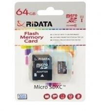 Atminties kortelė Ridata micro SDHC 64GB class10 U1