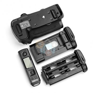 Baterijų laikiklis Nikon MB-D18 2