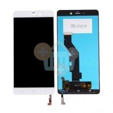 Ekranas Xiaomi Mi Note (baltas) originalus +++ TOP Kokybė