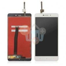 Ekranas Xiaomi Redmi 4A (baltas) originalus +++ TOP Kokybė