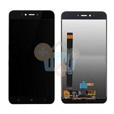 Ekranas Xiaomi Redmi Note 5A (juodas) originalus +++ TOP Kokybė