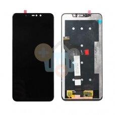 Ekranas Xiaomi Redmi Note 6 Pro (juodas) originalus +++ TOP Kokybė