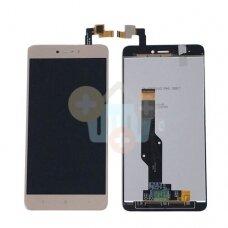 Ekranas Xiaomi Redmi note4X (auksinis) originalus +++ TOP Kokybė