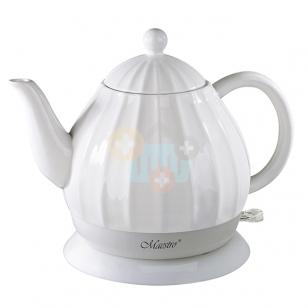 Elektrinis keramikinis virdulys MAESTRO MR070 1.2l Baltas