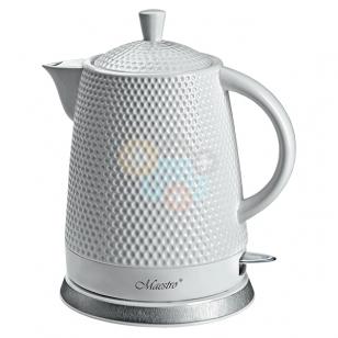 Keramikinis elektrinis virdulys MAESTRO MR069 1.5l Baltas