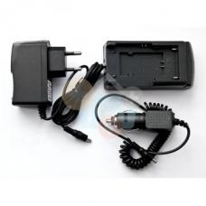Įkroviklis akumuliatoriams Casio NP-70, Sony NP-BK1, Canon NB-6L, Olympus Li-50B, Nikon EN-EL12, Pentax D-li88