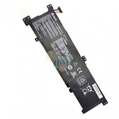 Nešiojamo kompiuterio baterija ASUS B31N1424, 4200mAh +++ TOP Balansas