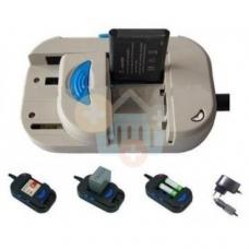 Universalus baterijų įkroviklis ( 220V + 12 V)