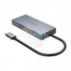 USB-C šakotuvas ORICO 5 in 1: HDMI, USB 3.0, PD 3.0, VGA, 3.5mm AUX +++ TOP Mobilumas