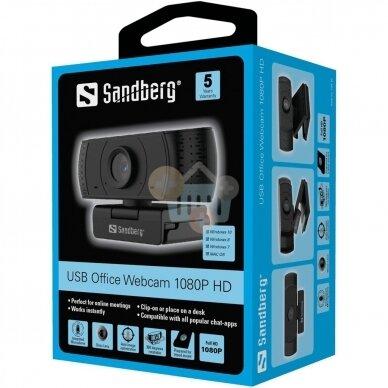 WEB kamera Sandberg USB Office 1080P HD +++ TOP Balansas 5